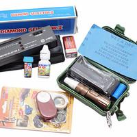 Jual Paket Promo Diamond Selector Serbuk Intan Senter Kaca Pembesar Amplas Murah