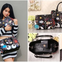 Tas Trendy Import Wanita Fashion Korea Jepang Singapura 5024