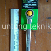 Kunci Ring Pas Ratchet 14mm Tekiro Japan