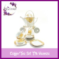 Tea Set VICENZA T76 Peralatan Perlengkapan Minum Teh Lengkap