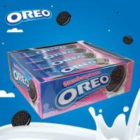 harga Oreo Biskuit Krim Strawberry 29.4 Gr [1 Box Isi 12 Pak] Tokopedia.com