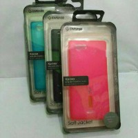 Case Capdase For Sony Xperia J ST26i Casing Cover Free Anti Gores