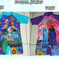 Jual Baju Renang anak Gambar Frozen Ukuran Junior 2-4 Tahun Murah