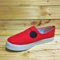 Sepatu Cats Model Baymax Merah