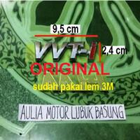 harga Emblem Original Vvti Besar All New Avanza Xenia Rush Terios 9,5 Cm 1pc Tokopedia.com
