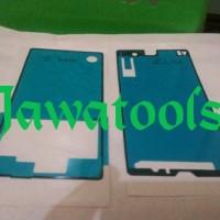 Lem Adhesive Lem 3m Lcd Dan Backdoor Sony Xperia Z C6602 Original