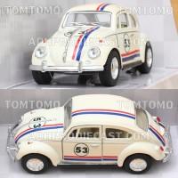 Diecast VW Beetle Kodok (Herbie) Miniatur Mobil Mobilan Mainan Anak