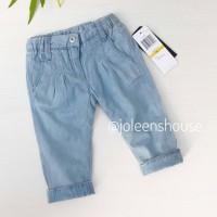 Jual SALE Celana Panjang Bayi Light Blue Cotton Baby Pants Murah