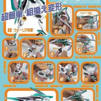 Revoltech Yamaguchi Series No.122 Vox Aura Mecha by Kaiyodo JPN