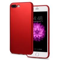Ultra Thin Slim Hardback Case Iphone 6 Plus dan Iphone 7 Plus - RED