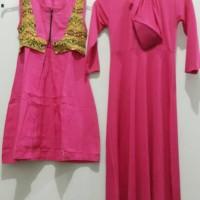 Baju Muslim GAMIS ANAK dan KERUDUNG Model trendy