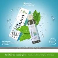 Green Angelica Shampo Penumbuh Rambut Botak dan Rontok Parah 100 % ORI