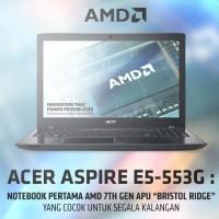Acer Aspire E5-553G-F79R Black - Laptop Gaming AMD FX-9800P - 8GB RAM