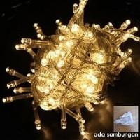Jual Lampu TUMBLR / Lampu Hias LED Warm White + Colokan Sambungan Murah