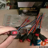 Tombol Hazard Sen Bisa Motor & Mobil Pemasangan Mudah