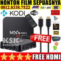 MXQ PRO 4K ANDROID TV BOX KODI MEDIA PLAYER INTERNET TV