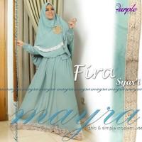 Gamis Set FIRA Syar'i By MAYRA (Gamis + Khimar)