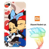 Hugs and Kisses Mickey Minnie mouse Q0179 Casing Redmi 4A Full Body P