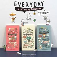 Cheer Up Everyday Diary- Buku Catatan Unik/Fancy/Cute Diary Book