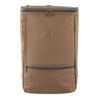 Delsey Miromesnil Backpack - Orange / Khaki