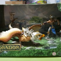 SCHLEICH WARRIOR WITH GRIFFIN ELDRADOR