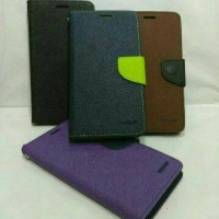 Mercury For OPPO Find Way S U707 Flip Cover Case Dompet Sarung Hp