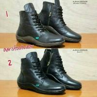 harga Sepatu Pria Kickers Zipper Boots Sleting Tokopedia.com