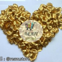Rose Petals / Kelopak Bunga Gold / Emas Per Pack
