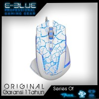 E-Blue Mazer Crackle Pro Gaming Mouse EMS600 2500DPI White