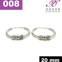 harga Anting Gipsy Lapis Emas Putih Perhiasan Imitasi Yaxiya Jewelry 18k 008 Tokopedia.com