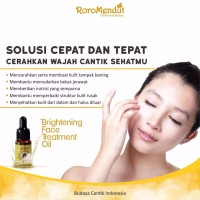 Jual Roro Mendut-BRIGHTENING FACE TREATMENT OIL (VITAMIN, NUTRISI KULIT) Murah