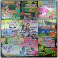Buku Cerita Anak/Dongeng/Bergambar Bilingual/Seri Cerita Hewan