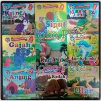 Buku Cerita Anak/Dongeng/Bergambar Bilingual/Seri Mengenal Hewan