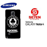 Casing HP Samsung Galaxy Note 4 ACE CAFE ROCKER fix Custom Hardcase Co