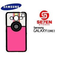 Casing HP Samsung Galaxy Core 2 A Beautiful Mess App Custom Hardcase C