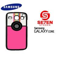 Casing HP Samsung Galaxy Core 1 A Beautiful Mess App Custom Hardcase C
