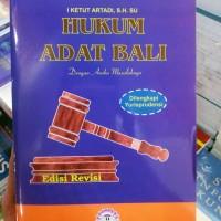 harga Hukum Adat Bali Ed. Revisi Tokopedia.com