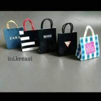 Magnet kulkas miniature shopping bag