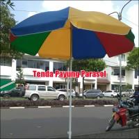 Tenda Payung Parasol Untuk Cafe Pantai Jualan 180cm Warna Warni