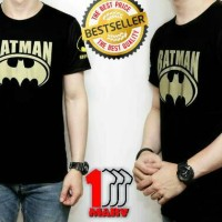 Kaos Cowok Sablon HOLOGRAM Best Seller New Restock Batman Superhero