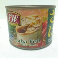 Saba Fish In Miso Sauce SW / Ikan makarel dalam sauce miso 200 g BPOM