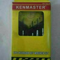 Obeng jam 6 pcs set kenmaster