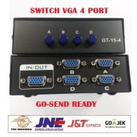 SWITCH VGA 4 PORT SWITCHER VGA - 4 INPUT 1 OUTPUT