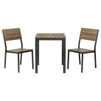 Meja dan kursi cafe murah dan minimalis 1 set