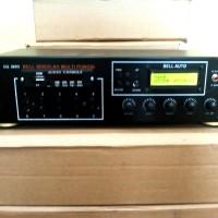 Amplifier Bell sekolah otomatis & manual