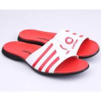 Sandal Pria | Kulit Sintetis | Putih - Catenzo YY 006
