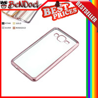 Softcase Luxury Shining List Chrome Case Samsung Galaxy Grand Neo Plus