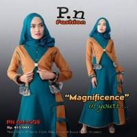 gamis katun  PN FASHION GM 1003 size M