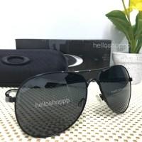 Kacamata Oakley Plaintiff Full Black Polarized / sunglasses kaca mata