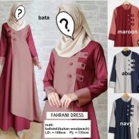 Long Dress / Maxi Dress / Dress Muslim [FAHRANI DRESS]